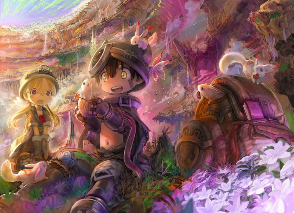 yande.re 400159 landscape made_in_abyss megane regu_(made_in_abyss) riko_(made_in_abyss) tsukushi_akihito.jpg